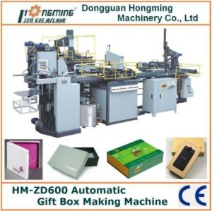 Hm-Zd600 Automatic Rigid Box Machine for Gift Boxes