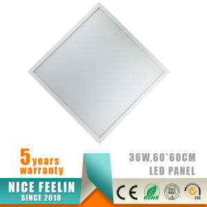 5years Warranty 36W 60X60cm LED Panel with Ce Approval pictures & photos