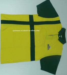 Custom Dye Sublimation Printing Logo Polo T Shirt pictures & photos