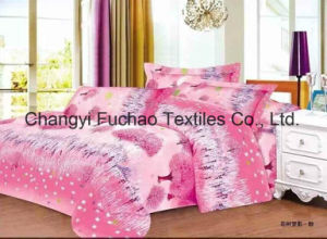 Poly/Cotton Bedding Set for Classic 8-Piece Modern Feather Home Textile pictures & photos
