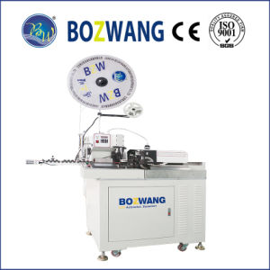 Full Automatic Single End Terminal Crimping and Tinning Machine with 4wires pictures & photos