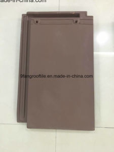 Hot Design Roof Tile 290*450mm Building Meterail Clay Flat Roofing Tile Factory Supplier Guangdong pictures & photos