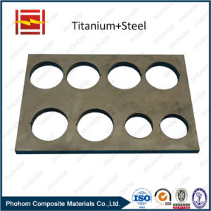 Titanium Bimetal Transition Joint / Titanium Clad Conductive Bar pictures & photos
