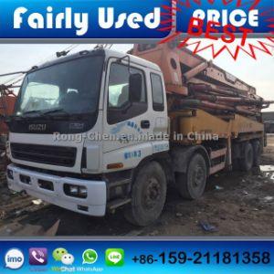 Used Right Hand Drive Sany 42m Boom Concrete Pump Truck