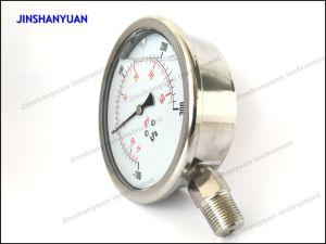 Og-019 Bourdon Tube Pressure Gauge/Radial Direction Mount Manometer pictures & photos