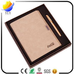 High Quality and High-End Business Leather Notebook pictures & photos