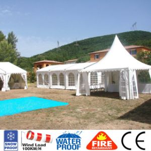 Big Party 6X6 Aluminum Pagoda Pergola Canopy Tent for Sale