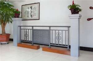 Haohan High-Quality Decorative Galvanized Steel Alluminum Alloy Balcony Railing 4 pictures & photos