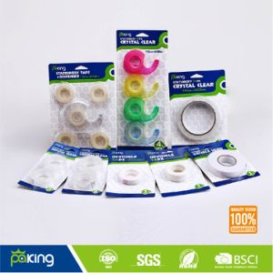 Single Blister Card Packing Invisible Tape pictures & photos