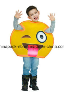 Emoji Funny Face Carnival Cartoon Party Costume for Kids (CPGC70013X) pictures & photos