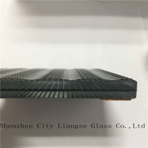 5mm+Silk+5mm Art Glass/Sandwich Glass/Safety Glass/Tinted Laminated Glass for Decoration pictures & photos