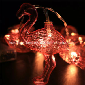 Flamingo Fairy Light String for Party Birthday Wedding Home Table Decor 3.3 Feet Long Battery Operated, Adapter Operate pictures & photos