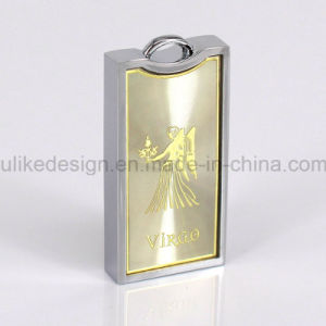 Golden Color Design USB Flash Driver (M-049-01) pictures & photos