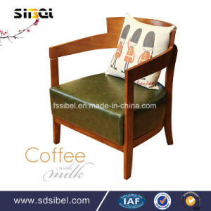 2017 Wooden Round Cafe Table Modern Dining Table Sbe-CZ0612 pictures & photos