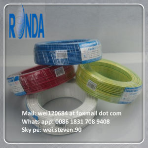 PVC Insulated Flexible Electric Copper Wire pictures & photos