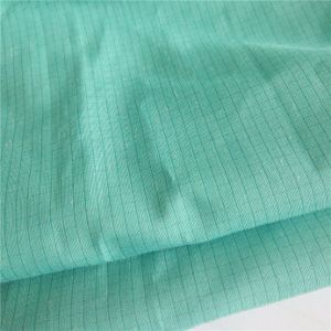 4mm Grid 128GSM 76%Polyester 20%Cotton 4%Carbon Fiber Fabric pictures & photos