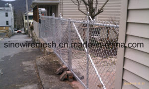 Hot DIP Galvanized Welded Wire Mesh/ PVC Coated Chain Link Temporary Fence pictures & photos