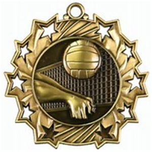 Custom Metal Volleyball Gold Award Medal pictures & photos