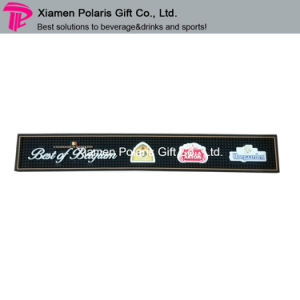 Hot Selling Full Color Logo Printing Soft PVC Bar Runner pictures & photos