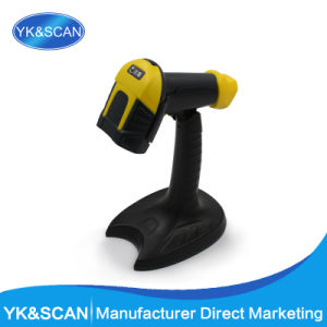 Yellow Automatic Barcode Scanner with Factory Price pictures & photos