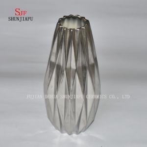 Minimalist Ceramic Creative Origami Flowers Vase Pot Home Decor pictures & photos