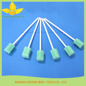 Disposable Medical Swab Container Cleaning Sponge Stick pictures & photos