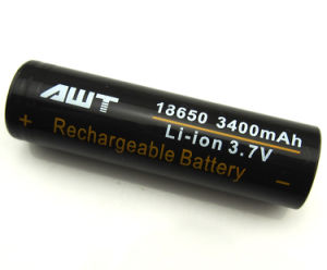Awt (3400mAh/35A) 18650 Battery Rechargeable Battery Li-ion Battery pictures & photos