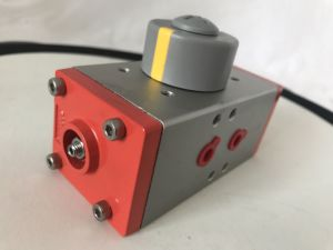Rotary Pneumatic Actuator with Namur Solenoid Valve 4m310-08 Airtac pictures & photos