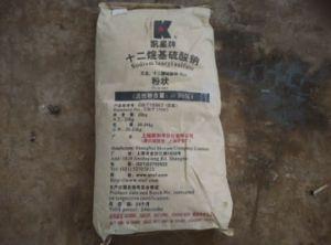 Sodium Lauryl Sulfate K12/Twelve Alkyl Sodium Sulfate pictures & photos