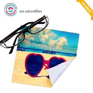 High-Grade Custom Logo Printed Microfiber Lens Cleaning Cloth pictures & photos