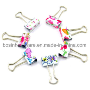 Customized Printed Metal Binder Clips pictures & photos