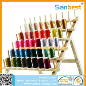 Colorful Polyester Embroidery Thread on Mini Spools pictures & photos