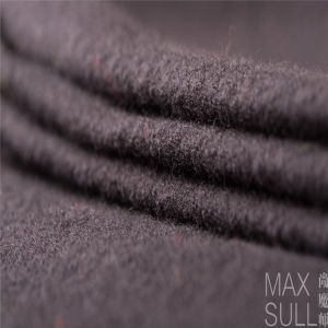 Nine Kinds of Colours of Wool/Nylon Fabric in Black pictures & photos