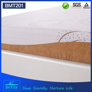 OEM Compressed Sponge Mattress 20cm High with Relaxing Memory Foam and Detachable and Washable Cover pictures & photos