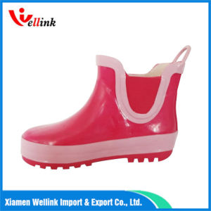 Fashion Kids Rubber Rain Boots pictures & photos