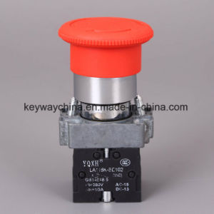 Keyway Mushroom Metal Type Push Button Switch pictures & photos