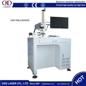 Extreme Quick Fiber Laser Marking Machine for Watch Dial pictures & photos