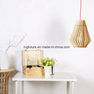 Easy Assembling Concise Wooden Shutter Pending LED Light pictures & photos