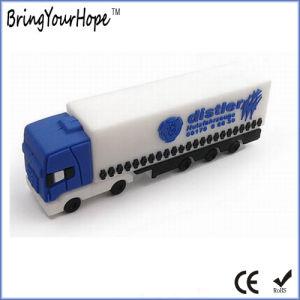 PVC 3D Design Truck Shape USB Flash Drive (XH-USB-116) pictures & photos