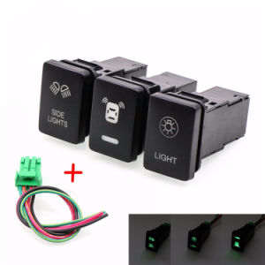 DC 12V Car Switch for Toyota Rocker Switch LED Switch pictures & photos
