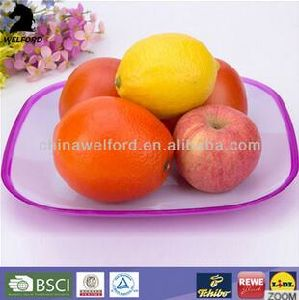 Hot Selling Plastic Top Quality Salad Plate pictures & photos