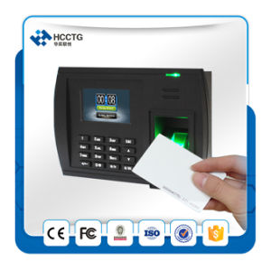 "Multi Language 3"" TFT TCP/IP RS232/485 Fingerprint Attendance Time Machine (HGT5000) pictures & photos"