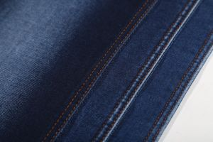 Indigo Color, Super Soft Wearing Terry Denim fabric pictures & photos