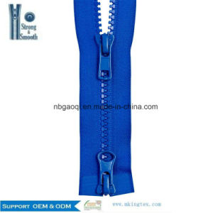 #5 Plastic Resin Zipper Vislon Zipper #8 Plastic O/E a/L pictures & photos