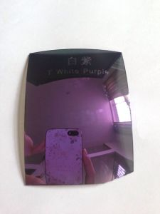 Colorful Eyeglasses Polarized Tac Lens (T white purple) pictures & photos