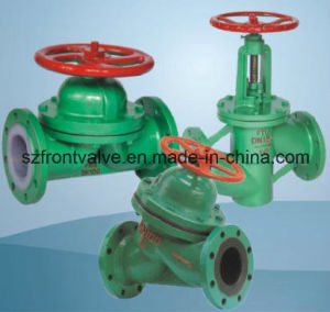 Cast Steel Flanged End Diaphragm Valve pictures & photos