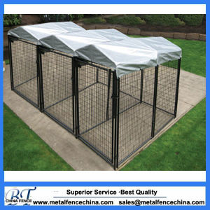 Mesh Fencing for Dogs 10X10X6 Galvanized Outdoor Dog Kennel pictures & photos