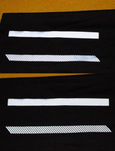 Reflective Heat Transfer Label Heat Press Prints for T-Shirts pictures & photos