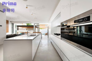 Modern UV High Glossy Kitchen Cabinet Modular Kitchen Cabinets pictures & photos
