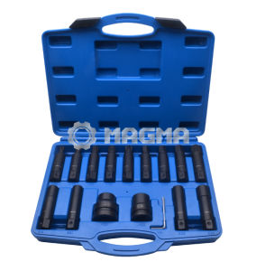 "16PCS Impact Insert Bit Socket Set-3/4"" & 1""-Garage Tools (MG50472) pictures & photos"